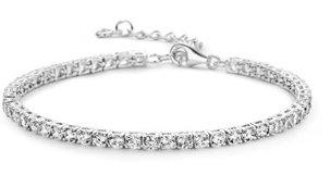 juwelen armband zilver met zirconium