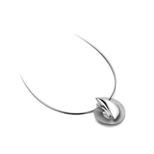 ketting en hanger zilver